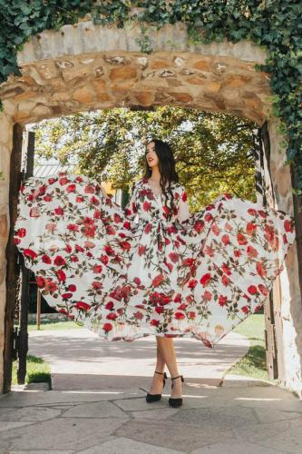 2021 Spring Summer Autumn NewMom and daughter dress Patchwork Floral Long Dress Mommy and me clothes Mother and daughter clothes