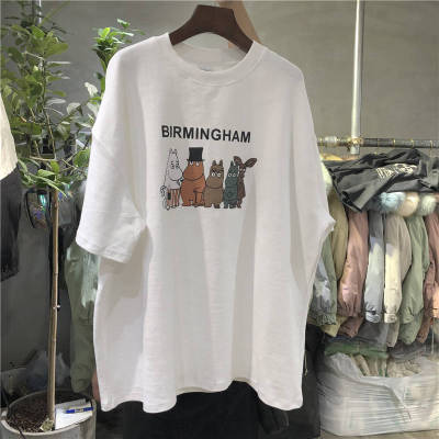 100% Cotton Summer Fashion Tops and Tees for Women T-shirts 3D Printed Tops Casual Streetwear Tops