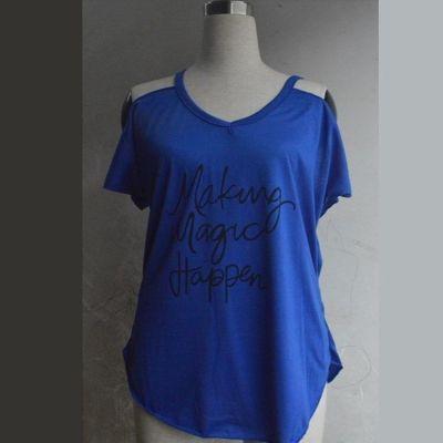 Women Summer T-shirt Sexy Spaghetti Straps V Neck Short Sleeve Twist Knot T shirt Loose Tops Lady Tee Shirt Plus Size