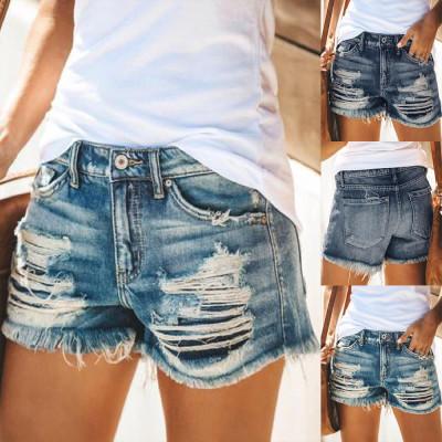 Ripped Shorts Fashion Jean Shorts Denim Shorts Women Ladies Femme Sexy Shorts Women Jeans Short Pants Ropa Short Jeans Feminino