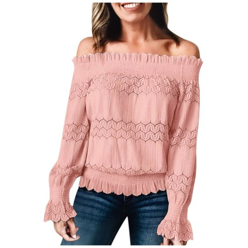 Woman 2021 Plus Size Summer Fashion Floral Lace Casual Blouse Sexy Solid Tops Women Short Sleeve Shirt Blouses