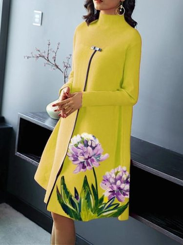 2021 Spring and Autumn African Women Long Sleeve Plus Size  Dress African Dresses for Women African Clothes American Clothing