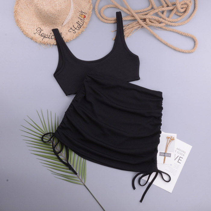Two Pieces Tankini Set Swimwear Push-Up Swimsuit 2021 Swimwear Women Sexy Swimsuit Brazilian Bathing Suit Beachdress