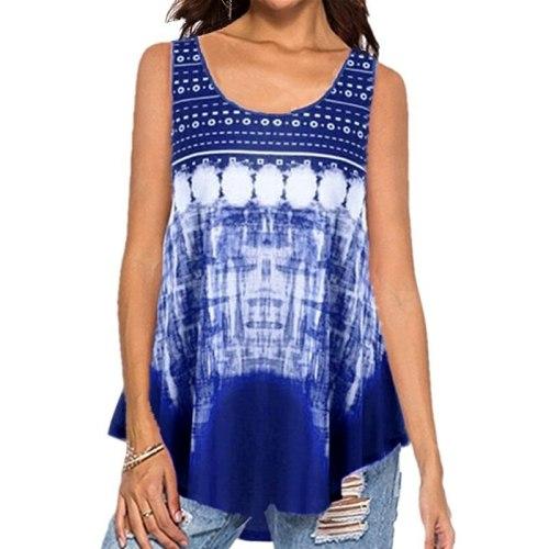 2021 T-shirt New Summer Women's Top Hot European and American Printed Fashion Vest T-shirts Women