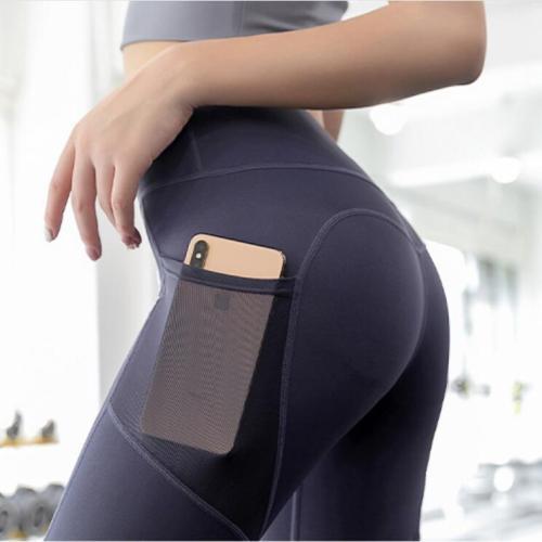 Simpold Sportwear Tights With Pocket Yoga Pants Athletic Leggings Flexible Women Fitness Elastic High Waist Gym Clothe