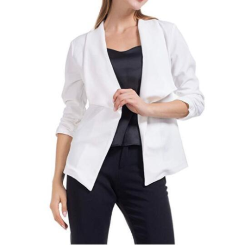 2021 Plus Size Fashion Hot New women blazers and jackets long-sleeve slim blazer short