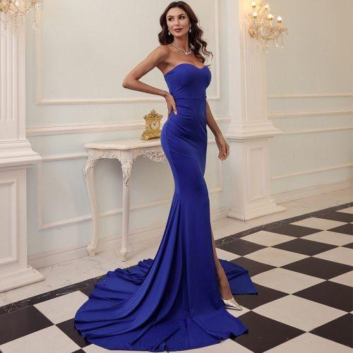 Maxi Dress Elegant Celebrity Fashion Party Dresses Women Club Wedding Christmas Sexy Vestidos Plus Size XS-XL
