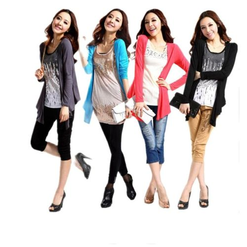 2021 Spring Summer Air Conditioning Shirt Women's Medium-Long Long-Sleeve Loose Sweater Female Cardigan Thin Outerwear Plus Size