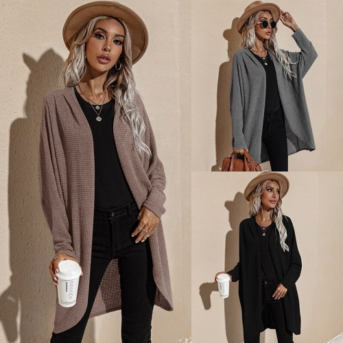 Spring Autumn Fashion Women Knitted Sweater Cardigan  Sweaters Solid Thin Winter Clothes Ladies Jacket Ropa De Mujer Pull Femme