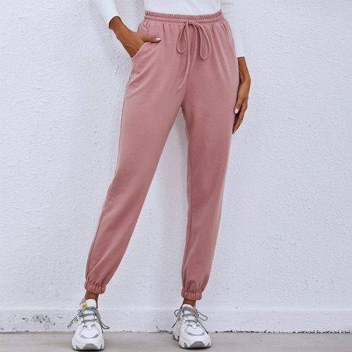 Women Trousers 2021 New Plus Size Casual Running Sporting Pants High Waist Sweatpants Jogger Streetwear Pantalon Femme