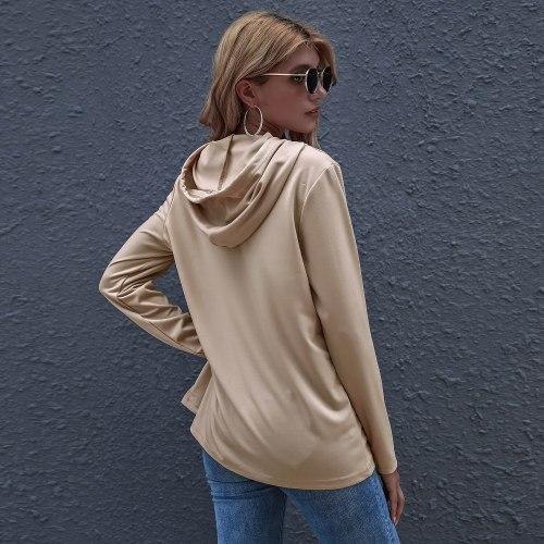 Women Long Sleeve Color Block O Neck Leopard Print Pullover Sweatshirt Blouse Shirt Female Loose Patchwork Clothing Fashion 2021