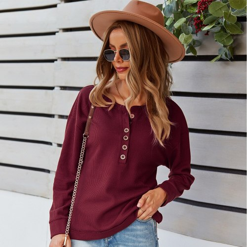 Autumn 2021 Loose Waist Hoodies Sweatshirts Pullover O-neck Thermal Hoody Mujer Solid Long Sleeve Shirts for Women Fashion Tops