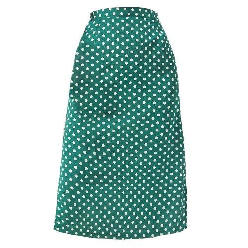 2021 Sexy Autumn Women Grosgrain Skirts Womens Harajuku Wrap Skirt Slim-fit Slit Satin Skirt High-waist Zipper Dot Skirt