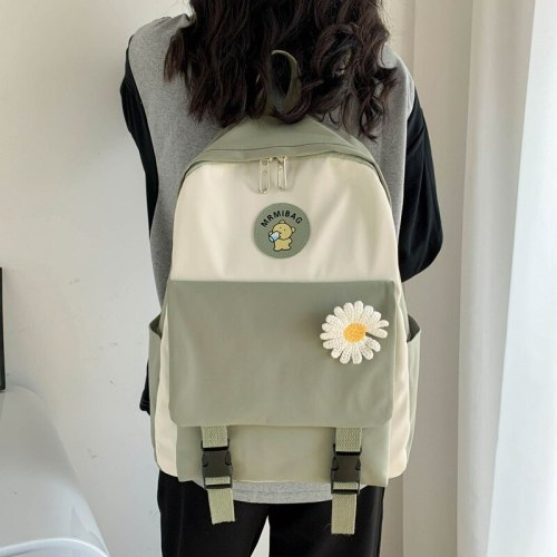 Female Student Backpack Small Backpack Luxury Student Black Fashion School Backpacks for Teenagers Mochilas Schoolbag