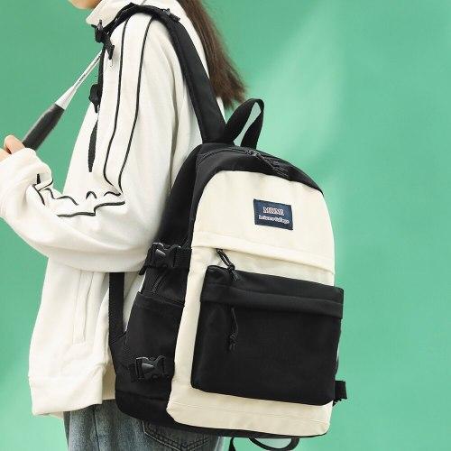 Women New Trendy Cute Backpack Harajuku Nylon Female School Bag Ladies Kawaii Travel Backpack Girl Fashion Student Book Bag