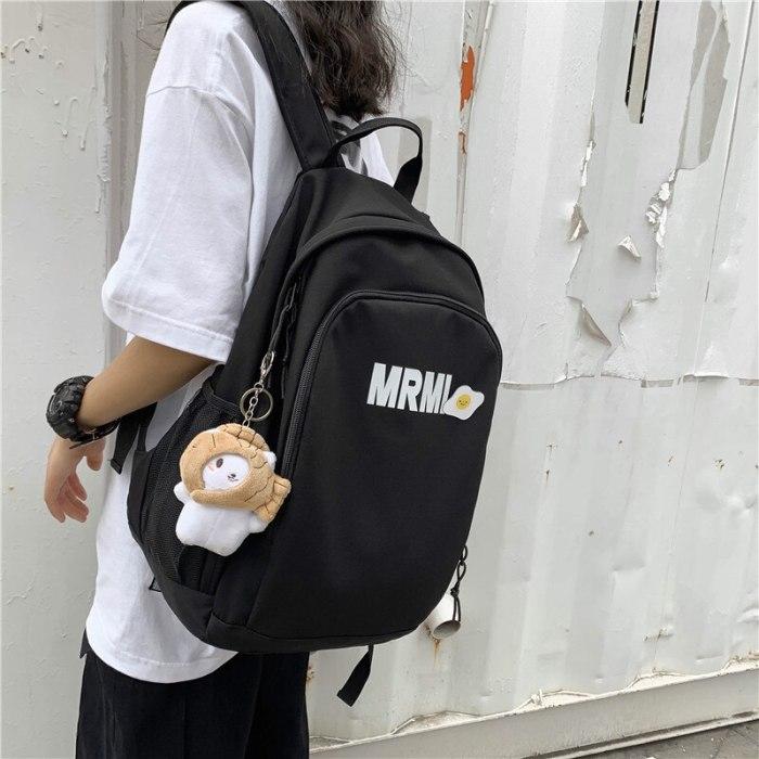 2021new Waterproof Women Backpack Female Nylon Teen Schoolbag College Laptop Travel  Shoulder Bag Large Capacity Girls Backpack