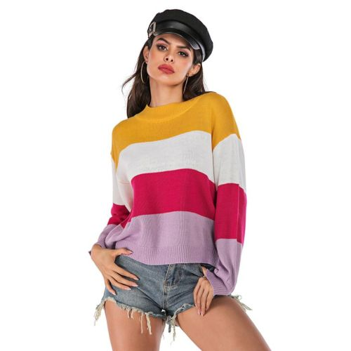 Woman sweaters pull autumn clothes streetwear pulls femme dropshipping women jersey mujer