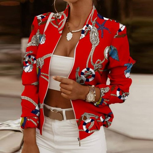 Women PU Leather Jackets Autumn Winter Short Solid Color Waterproof Coats Long Sleeve Lady Thick Zipper Jacket  Fashion 2021 New