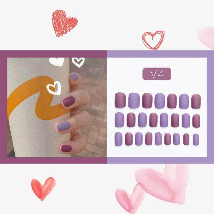 24pcs/box Khaki Pure Color Frosted Ballet matte Fake Nail press on Wearable Detachable Nail Tip Long Healthy full cover for Girl