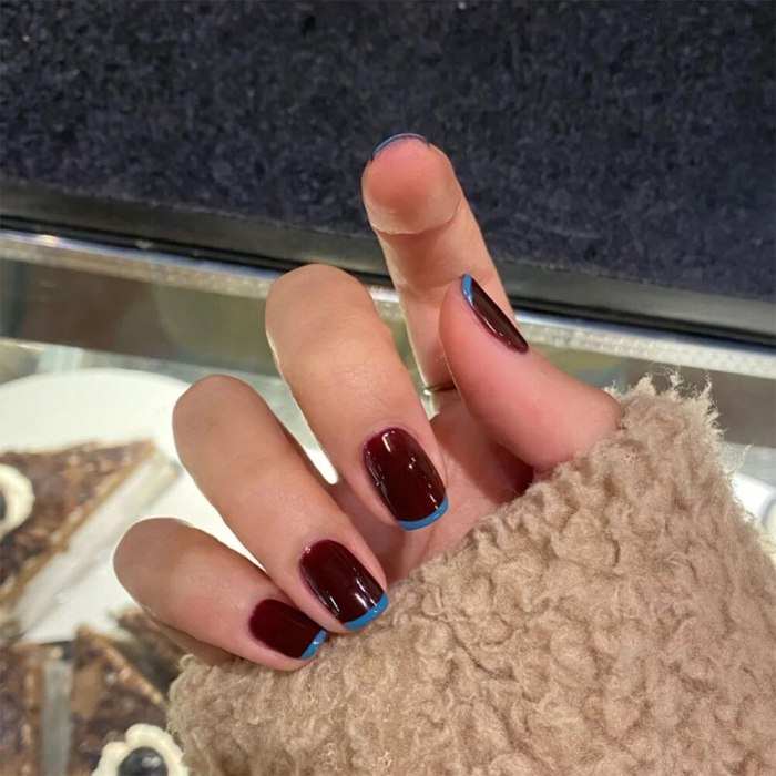 24Pcs/Set Cat Eye Phototherapy Nail Patch Wearable Fake Nail Short False Nail Wedding For Winter Autumn Wearable Full Cover