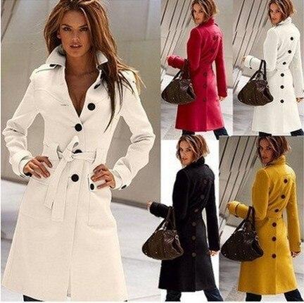 2021 Summer Clearance Trench Coat For Women Maxi Windbreaker Female Fashion Long Sobretudo Feminino British Style Trench Coat