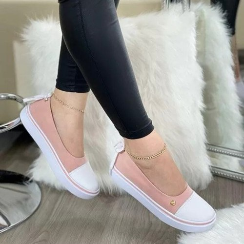 Women Ballet Flats Casual Shoes Slip-on Ladies Moccasins Soft Shoes Female Summer Loafers Shoes Woman Footwear Tenis Feminino