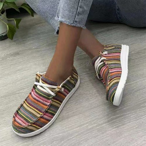 2021 Women Leopard Loafers Simplicity Flat Female Summer Round Toe Casual Shoes Ladies Slip-On Comfort Footwear Plus Size