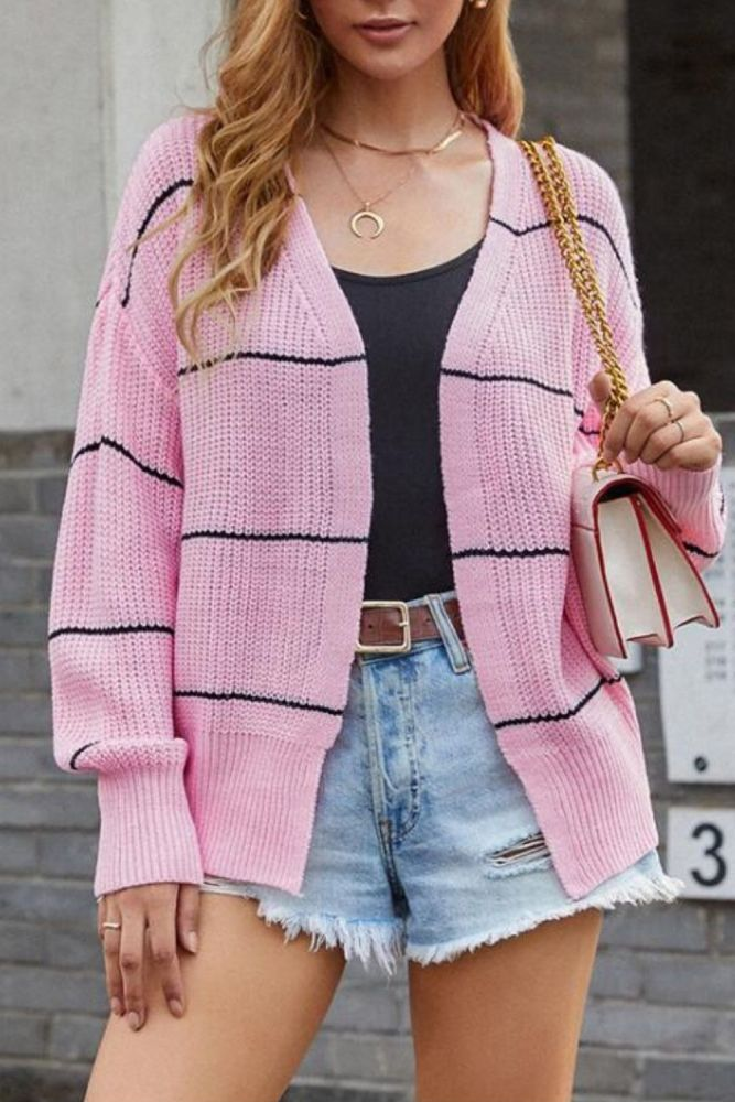 Autumn New Fashion Women Long Sleeve Loose Knitting Cardigan Women Sweater Knitted Pull Femme Sueter Mujer Invierno 2021