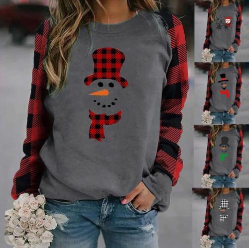 Hoodie Winter Womens Casual Long Sleeve Tops Ladies Christmas Print Sweatshirt Blouse hoodies women