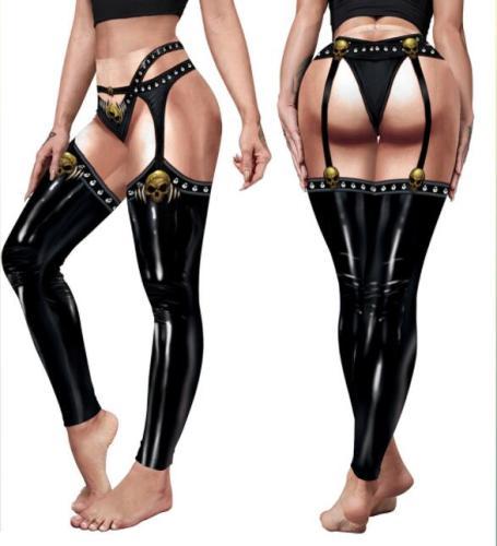 Halloween Cosplay Skull Skeleton 3D Printed Women's Plus Size Pants Fitness Sexy Skinny Leggins Pant Trousers 2021