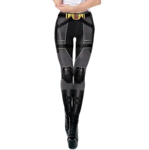 Disney Cute Cartoon Marvel Black Widow Women's Sweater Pants Cosplay Costume 3D Trend Cool Print Digital Print