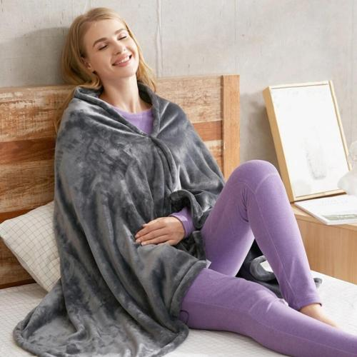 Electric Heated Shawl Blanket Battery Operated USB Cordless Wrap for Women