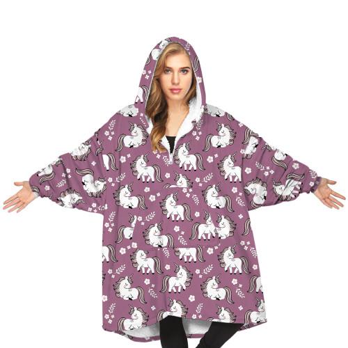 Oodie Hoodie Blanket  Women & Men  Wearable Blanket Adult & Kids Sizes All Patterns & Colors