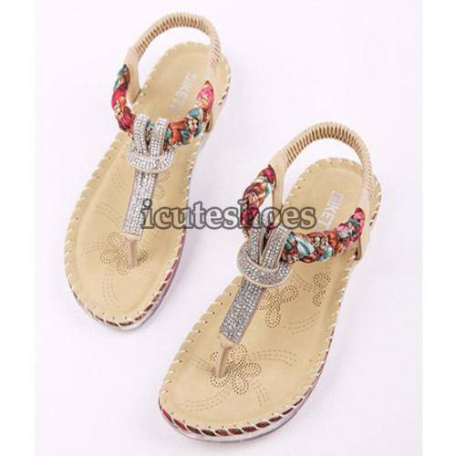 Bohemia Women Casual Shoes Sexy Beach Summer Girls Flip Flops Gladiator
