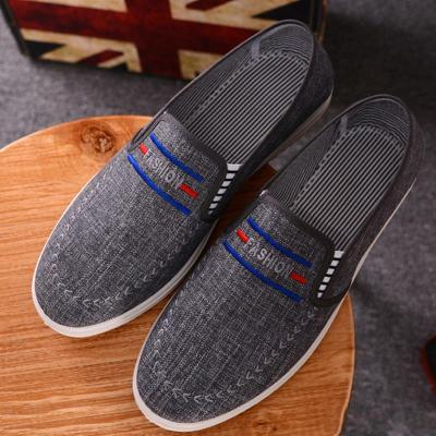 Round Toe Casual Canvas Flat Shoes
