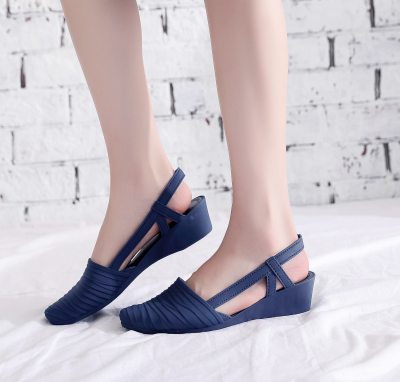 Sandals Women Pumps Pointed Toe Soft Sole Low Heel Sandals Daily Street Beach Outdoor Casual Shoes