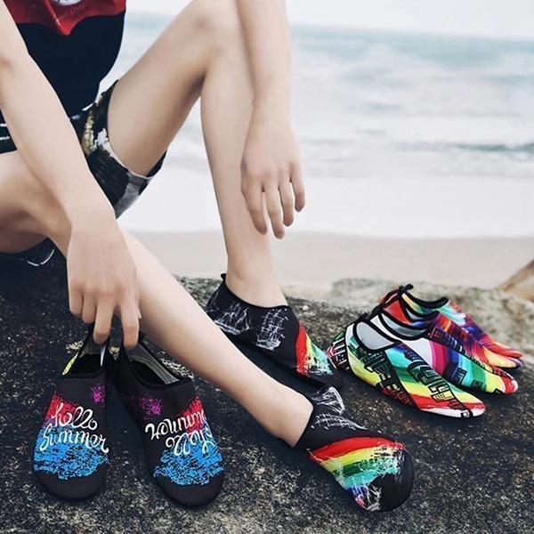 Water Shoes Barefoot Quick-Dry Aqua Socks Flat Shoes
