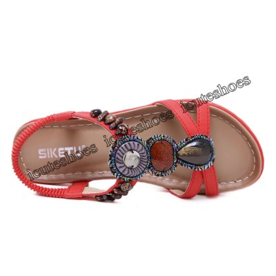 New Ethnic Sandals Bohemian Vacation Beach Slippers