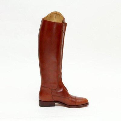 Women Chic Zipper Riding Boots Plus Size Knee-high Boots