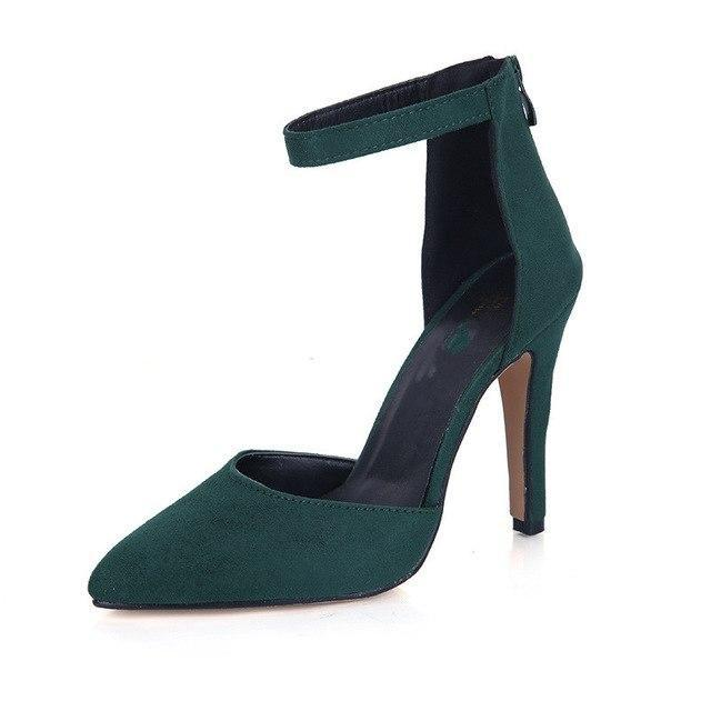 Summer Women Sexy Soft High Heels Sandals Party Dress Shoes