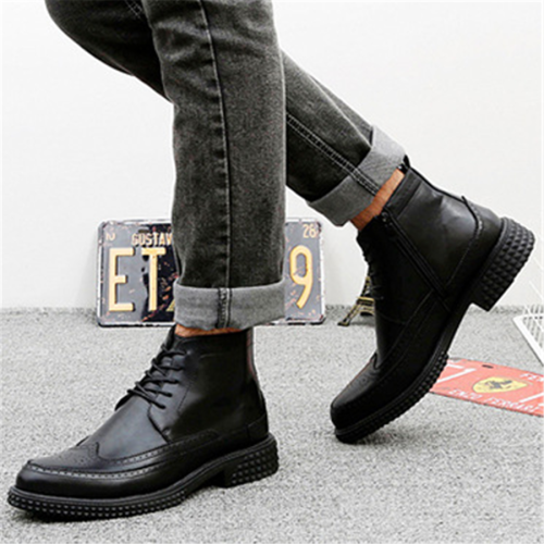 Men's British style platform wear Martin Men Boots