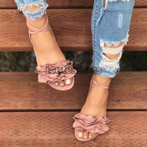 Sandals Ankle Strap Gladiator Sandals Women Shoes Ladies