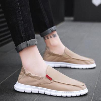Men's Round Head Casual Sandals Non-Slip Flat Shoes