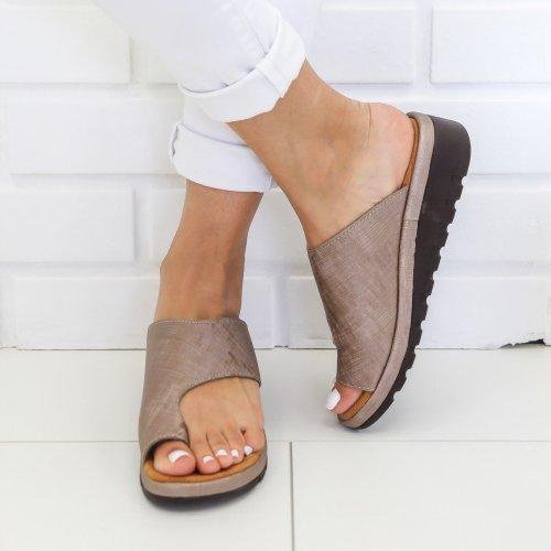 Women Comfy Platform Sandal Shoes Flip Flops Sandals