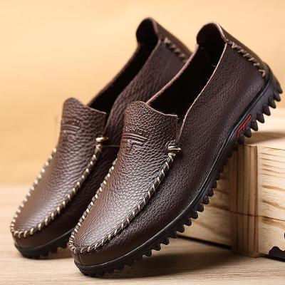 Men Slip On Soft Loafers Shoes