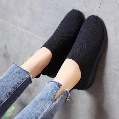 Women Non-slip Rubber Buttom Soft Slip-on Sneakers