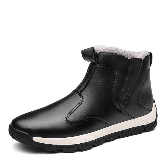 Men's waterproof tall snowshoe boots