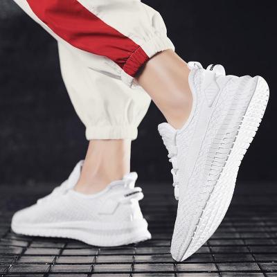 Sportive men's breathable wear-resistant low-heel sneakers