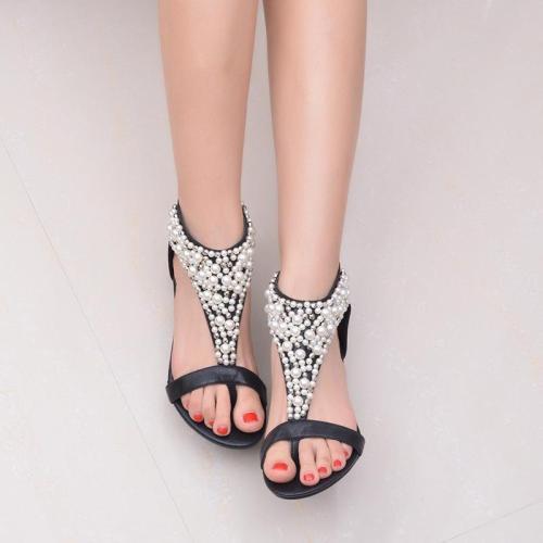 Women's Elegant Ethnic Style Wedge Sandals