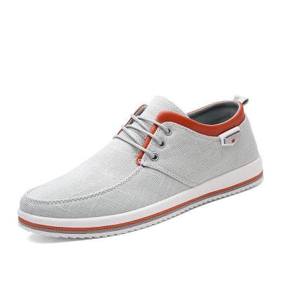 Mens Canvas Breathable Non Slip Large Size Casual Shoes